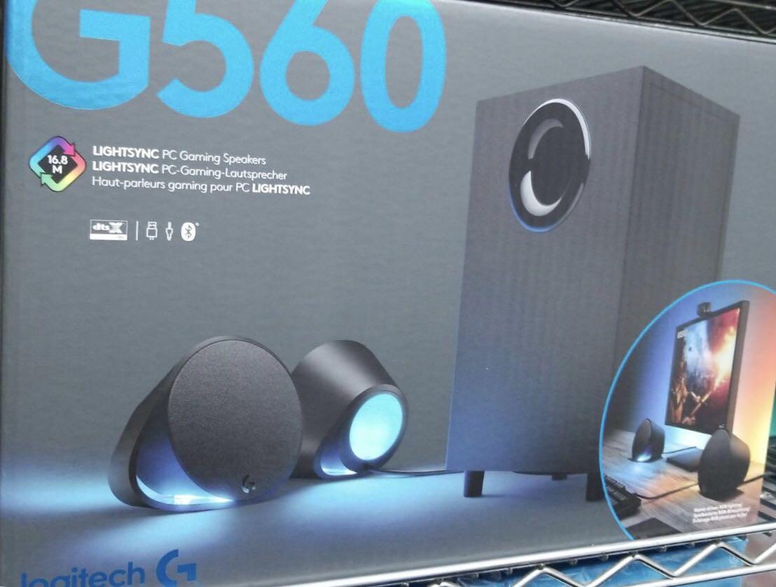 Logitech G560 Rgb Gaming Speakers Lightsync Pc Speaker Carousell