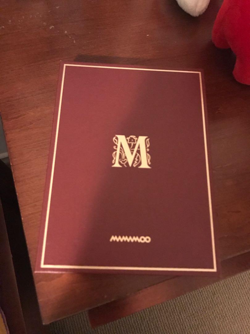 Mamamoo Memory Album