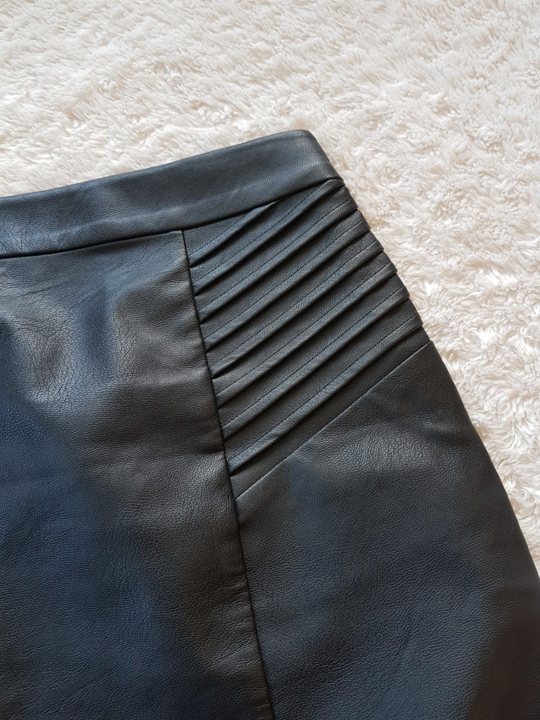 NEW - Skin Tight Leather Skirt!