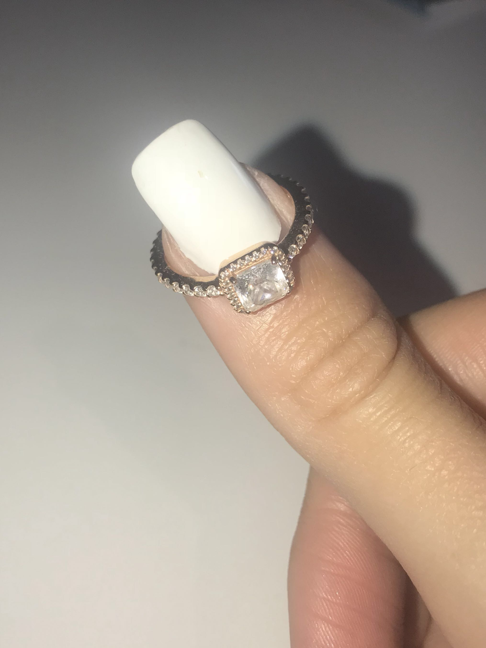 New Pandora Rose Gold Ring