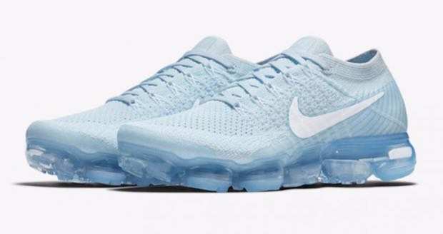 NIKE VAPORMAX ICE BLUE WOMENS 8