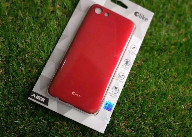 pretty nice 791f6 2f340 Olike Oppo A83 case Red
