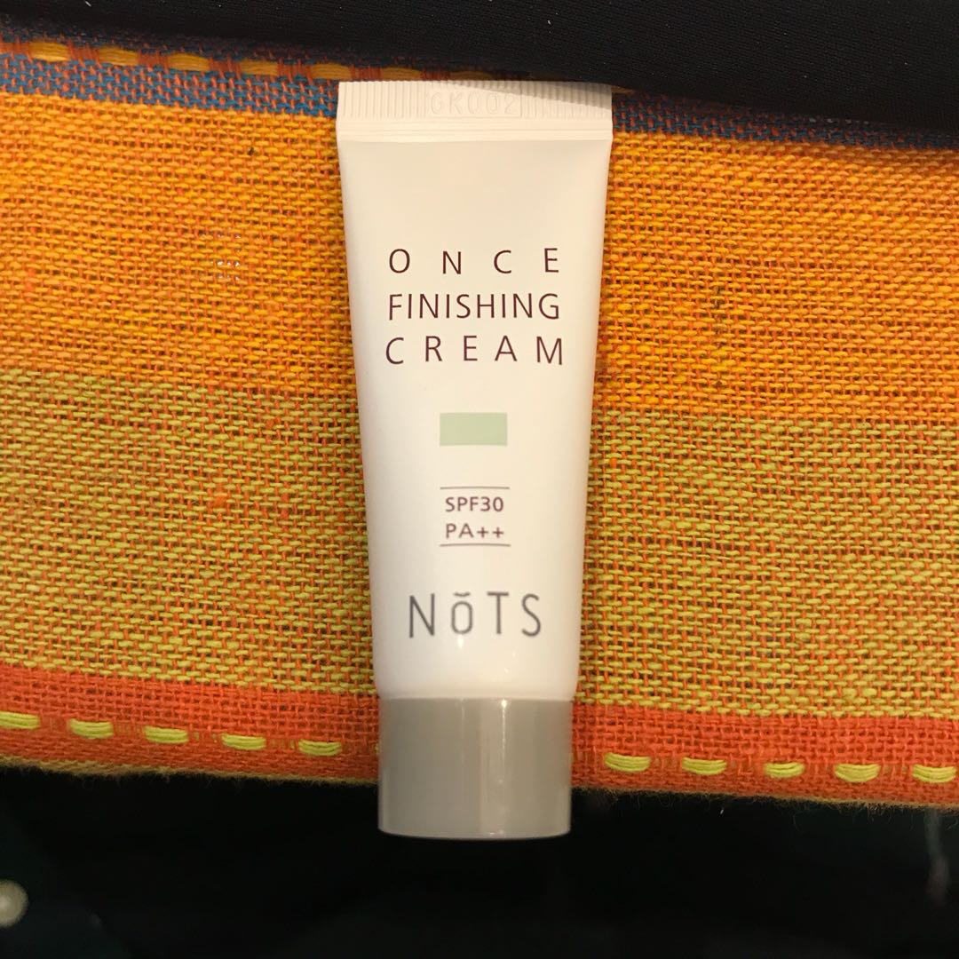 Once finishing cream with spf (ipsy bag product)
