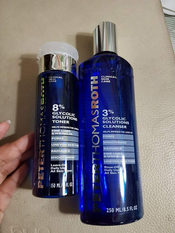 Peter Thomas Roth Glycolic Cleanser and Toner