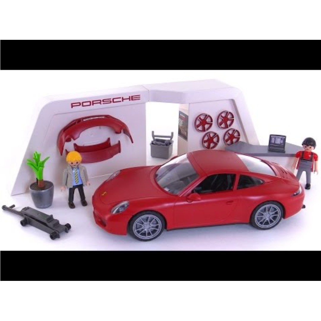 3911 Play Set by Playmobil Porsche 911 Carrera S New Sealed