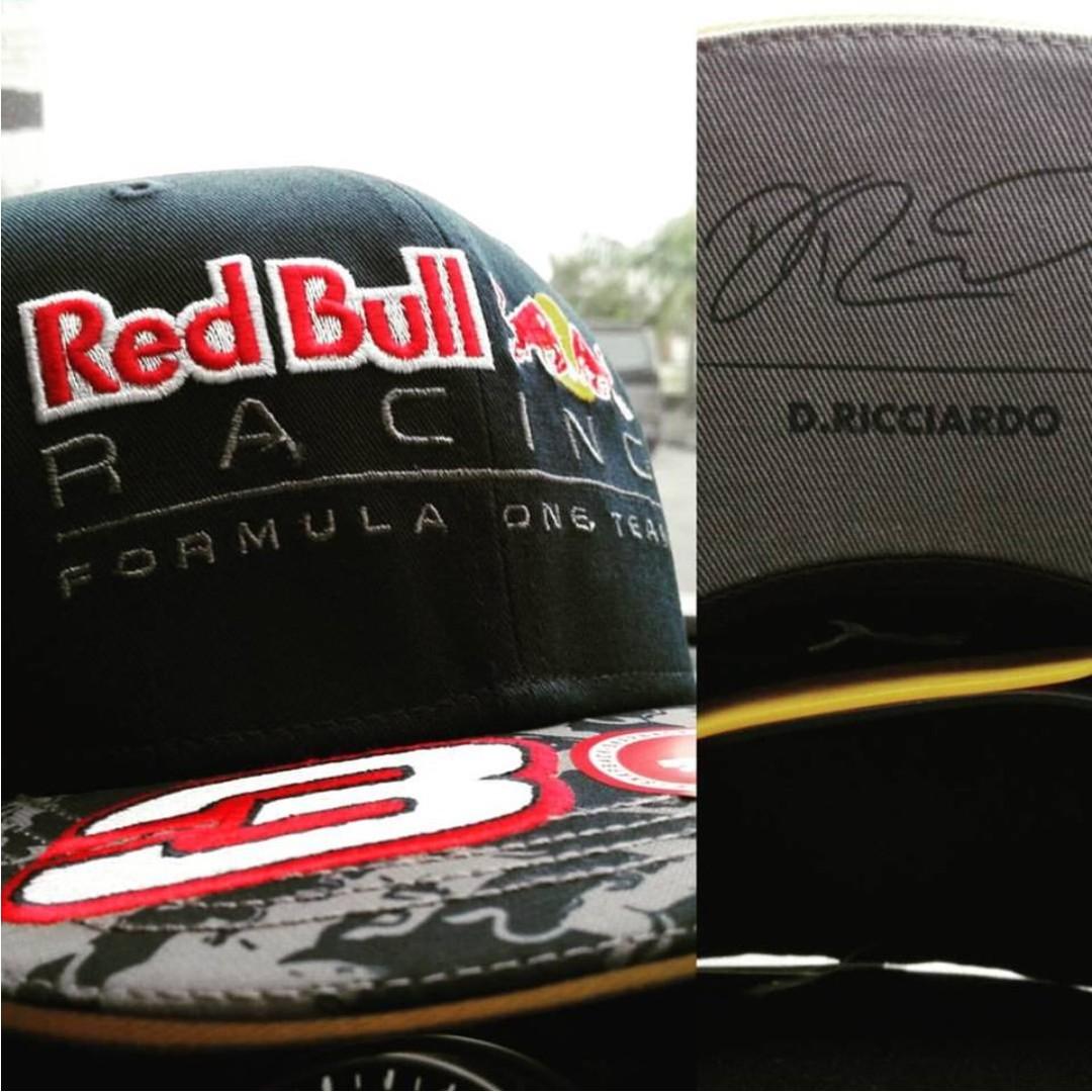 Red Bull Racing Official  3 Daniel Ricciardo Cap 117710d406