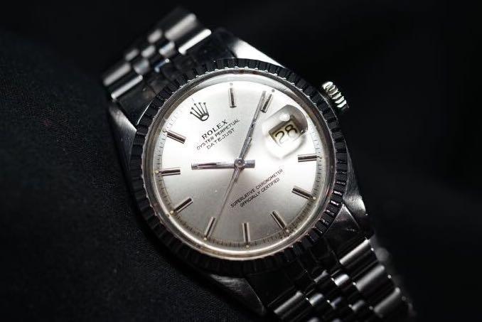 Rolex 1603 Datejust Silver Sunburst