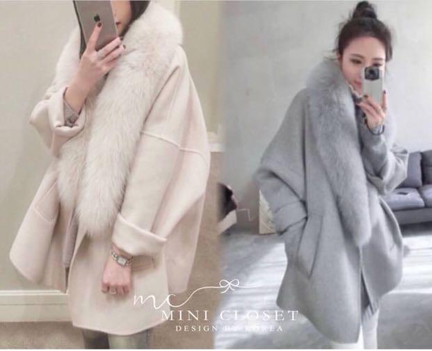 Style by korea - fur winter Coat