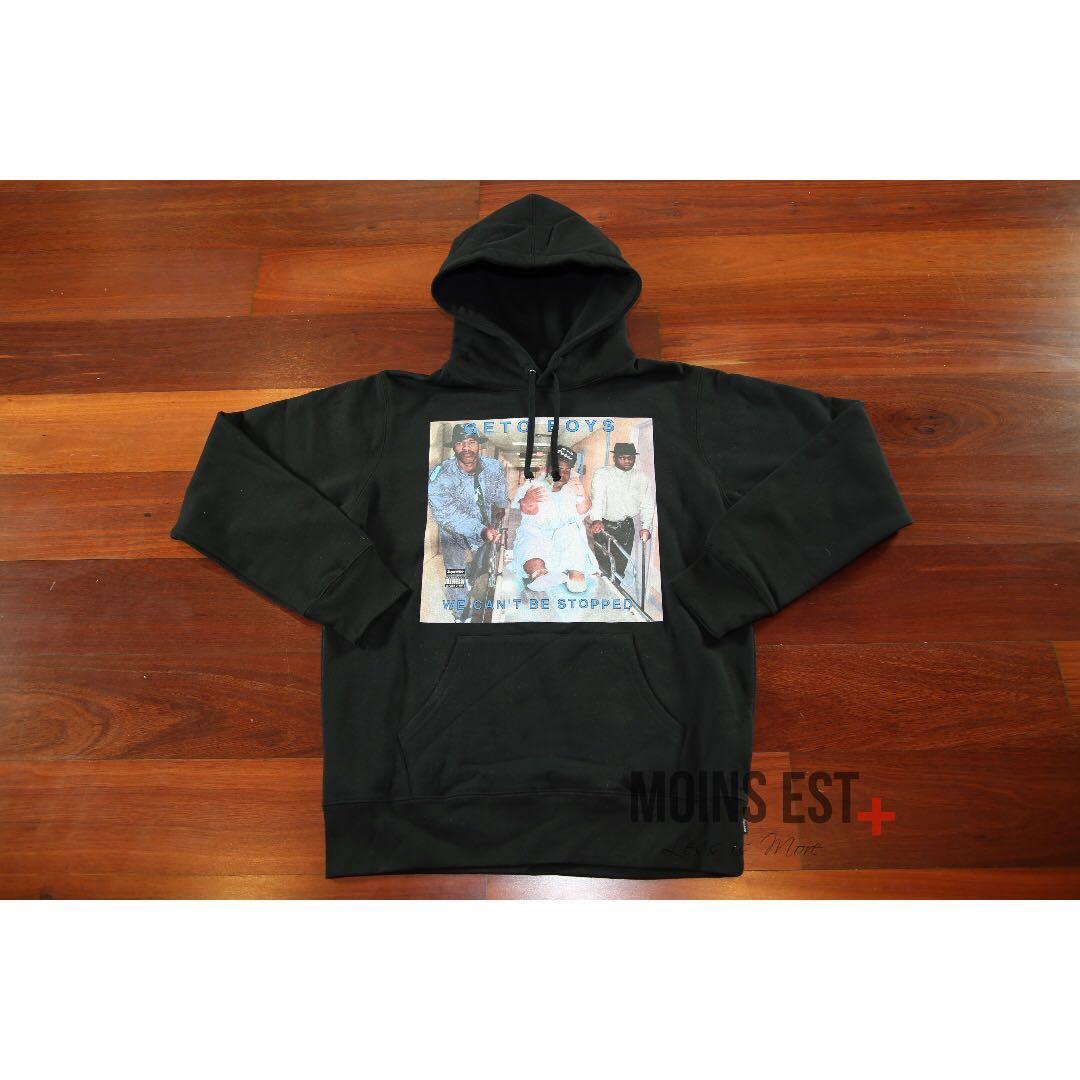 SUPREME Rap-A-Lot Hooded Sweatshirt - Black SS17