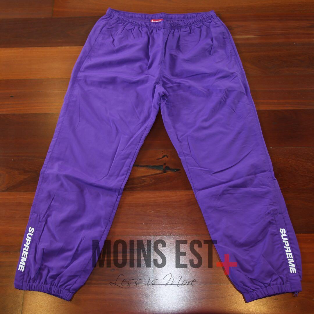SUPREME Warm Up Pant - Purple SS17
