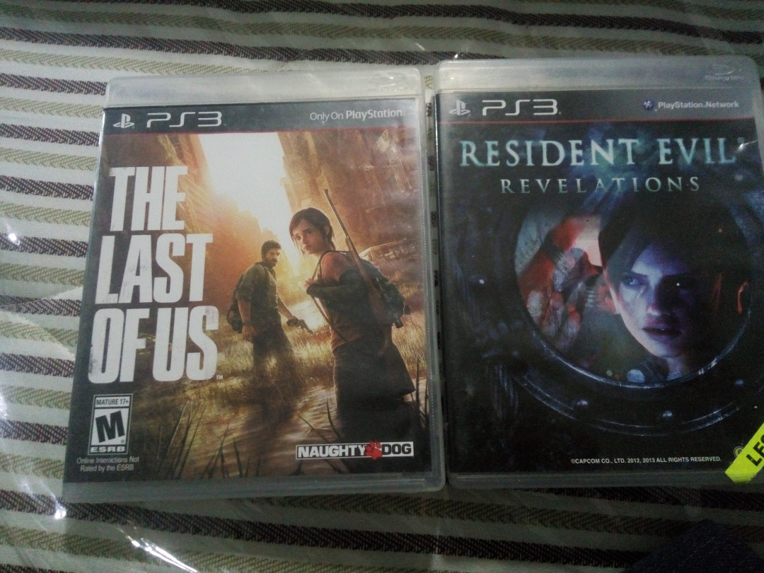 The Last Of Us And Resident Evil Revelations Video Gaming Switch Revelation English Games On Carousell