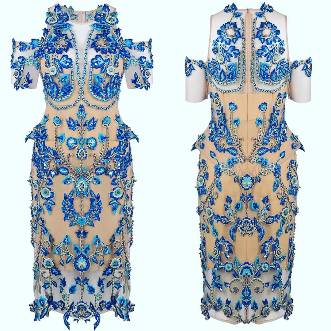 Thurley Iris Dress HIRE