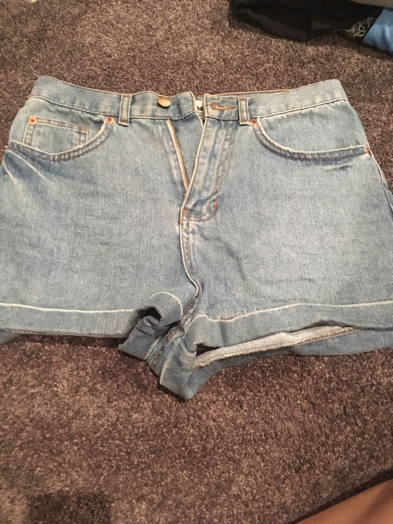 Topshop Denim Shorts