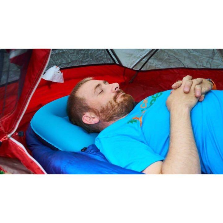 Trekology Ultralight Inflating Travel/Camping Pillows 露營腰枕枕頭充氣舒適AIR旅行枕靠墊遠足方便