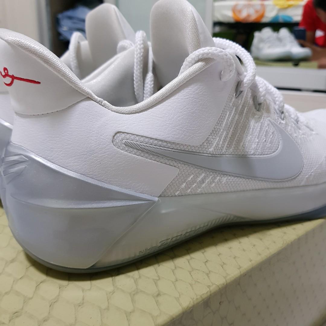 new style fc1ee e850c Us13 Nike Kobe AD White Chrome, Mens Fashion, Footwear on Ca