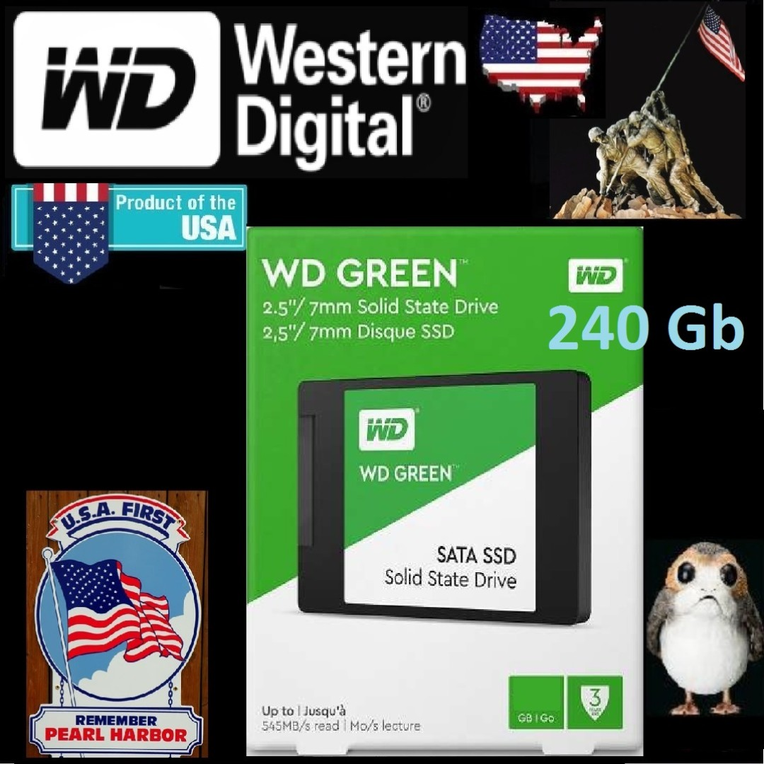 Wd Green 240gb 25inch Sataiii Ssd 3 Years Warranty Electronics 25 Sata Computer Parts Accessories On Carousell