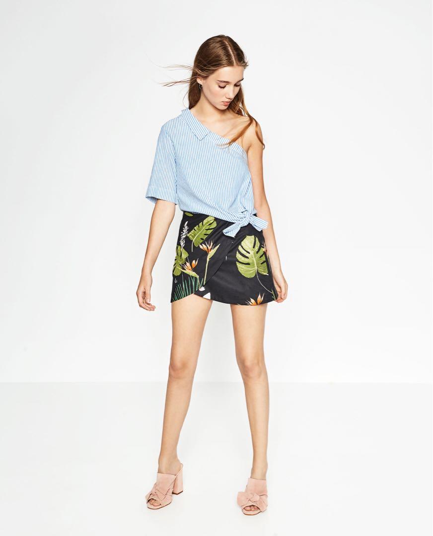 Zara stripe shirt
