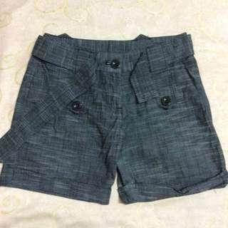 Crazyroom 女裝 women 黑色 black 短褲 shorts 西裝短褲 suit shorts