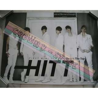 [CRAZY DEAL 90% OFF FROM ORIGINAL PRICE][READY STOCK]HITT KOREA OFFICIAL POSTER!NEW! OFFICIAL ORIGINAL FROM KOREA  (PRICE NOT INCLUDE POSTAGE) SHIP USING TUBE
