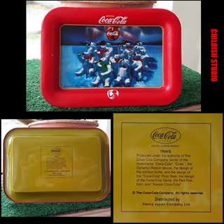 COCA-COLA (Northern Lights Polar Bear) Mini Tray.