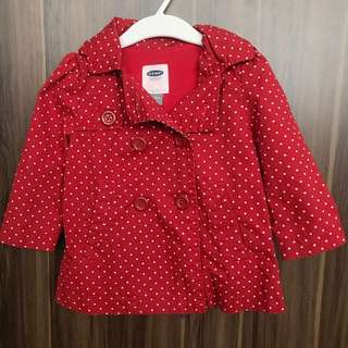 OLD NAVY toddler coat with hood