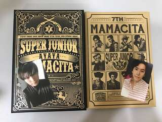 Super Junior album and sticker