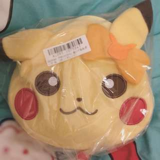 Girlish pikachu bag