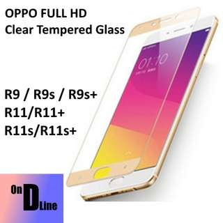 OPPO FULL HD Clear Tempered Glass