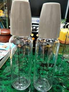 🚚 奇哥240cc標準口徑 玻璃 奶瓶