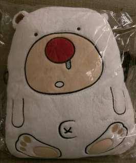 🚚 南極熊抱枕側背包