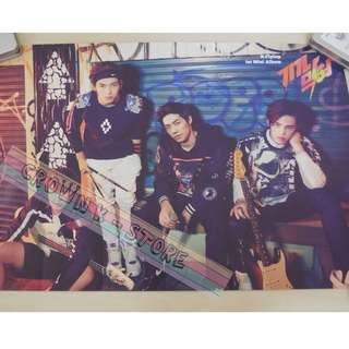 [CRAZY DEAL 90% OFF FROM ORIGINAL PRICE][READY STOCK]N.FLYING KOREA OFFICIAL POSTER!NEW! OFFICIAL ORIGINAL FROM KOREA  (PRICE NOT INCLUDE POSTAGE) SHIP USING TUBE