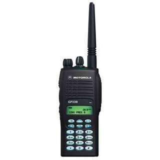 HT MOTOROLA MURAH - JUAL Handy Talky Motorola GP 338 Vhf-Uhf