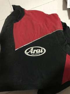 Arai raincoat size M