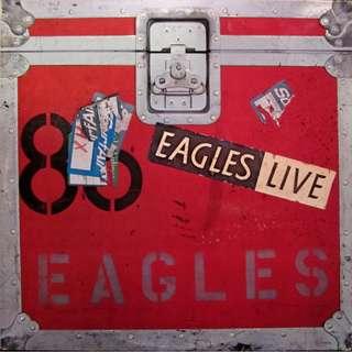 2LP Eagles - Eagles Live (1980 USA)