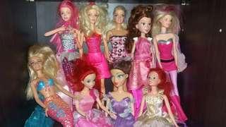 Original Barbie dolls