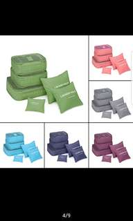 Travel Organiser Storage Bags (6pcs)