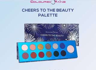 COLOURED RAINE CHEERS TO THE BEAUTY