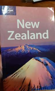 New Zealand lonely planet guide