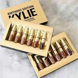 Kylie Birthday Edition 6pcs Mini Matte Liquid Lipsticks