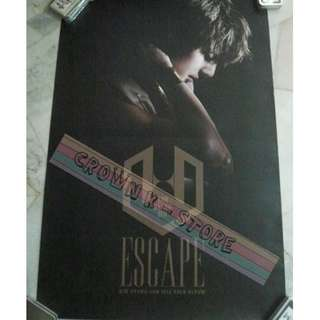 [CRAZY DEAL 90% OFF FROM ORIGINAL PRICE][READY STOCK]SS501 KIM HYUNGJUNKOREA OFFICIAL POSTER!NEW! OFFICIAL ORIGINAL FROM KOREA  (PRICE NOT INCLUDE POSTAGE) SHIP USING TUBE