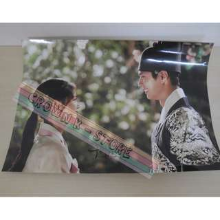[CRAZY DEAL 90% OFF FROM ORIGINAL PRICE][READY STOCK]KOREA DRAMA MOONLIGHT DRAWN BY CLOUD BOGEUM KOREA OFFICIAL POSTER!NEW! OFFICIAL ORIGINAL FROM KOREA  (PRICE NOT INCLUDE POSTAGE) SHIP USING TUBE