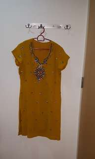 Ethnic/ Indian beaded Dress