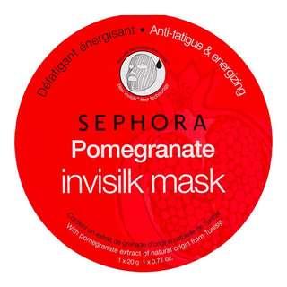Sephora Pomegranate Invisilk Mask | 1 piece