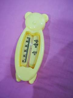 🆕 Baby Bath Water Thermometer Yellow Bear