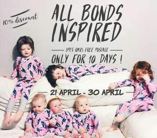 Bonds Sleepsuit sale 21-30