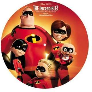 OST The Incredibles by Michael Giacchino LP 黑膠唱片 2018 (包郵)