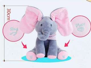 Music Elephant Toy 30cm