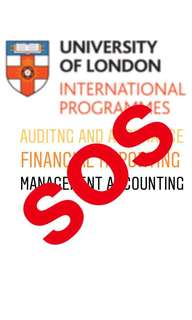 SPECIAL PRICE FOR UOL NOTES MANAGEMENT ACCOUNTING AUDIT