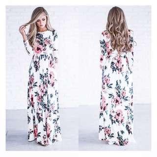Summer floral maxidress (Brand-new)