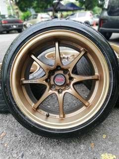 Ce28 16 inch sports rim vios tyre 70%. *below market price*
